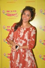 Lara Dutta promote Singh is Bling at Radio Mirchi 98.3 on 15th Sept 2015