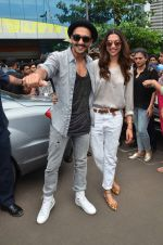 Ranveer Singh and Deepika Padukone launched Gajanana track from Bajirao Mastani on 15th Sept 2015