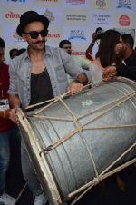 Ranveer Singh launched Gajanana track from Bajirao Mastani on 15th Sept 2015