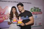Sooraj Pancholi and Athiya Shetty at green ganesh pandal in Lala College on 15th Sept 2015