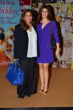 Dimple Kapadia, Twinkle Khanna at Sakshi Salve book launch in Mumbai on 16th Sept 2015