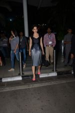 Kangana Ranuat snapped in Bhibhu Mohapatra as she returns from Delhi promotions in Airport on 16th Sept 2015