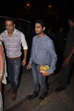 Anup Soni, Juhi Babbar, Prateik babbar at Salman Khan_s Ganpati celebrations on 17th Sept 2015 (70)_55fbbfe966e29.JPG