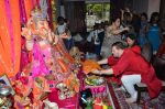 Nitin Mukesh at Neil Nitin Mukesh Ganapati celebrations on 17th Sept 2015 (11)_55fbbfa40dd93.JPG