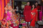 Nitin Mukesh at Neil Nitin Mukesh Ganapati celebrations on 17th Sept 2015 (15)_55fbbfa918274.JPG