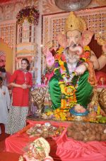 Laxmi Rai at Ganpati celebrations on 18th Sept 2015