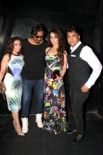 Arko Mukherjee,Nilofer Wani, Vipin Aneja at Jazbaa post bash on 20th Sept 2015