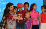 Ragini Khanna performed song with Kids at the _Care for Cancer Patients - Annual Day Event_  organised by NGO Vishwas.3