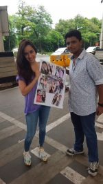 Shraddha Kapoor meets her biggest fan on 20th Sept 2015