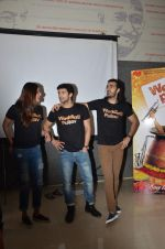Anushka S Ranjan, Diganth, Karan V Grover at wedding Pullav promotions at Law college in Vile parle on 22nd Sept 2015 (57)_5602622539711.JPG