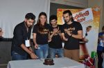 Anushka S Ranjan, Diganth, Karan V Grover at wedding Pullav promotions at Law college in Vile parle on 22nd Sept 2015