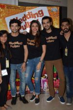 Anushka S Ranjan, Diganth, Karan V Grover at wedding Pullav promotions at Law college in Vile parle on 22nd Sept 2015 (64)_560262839033d.JPG