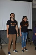 Anushka S Ranjan, Karan V Grover at wedding Pullav promotions at Law college in Vile parle on 22nd Sept 2015