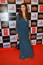Deepika Padukone at Gulshan Kumar Tribute in Filmcity on 22nd Sept 2015 (417)_5602a90323f16.JPG
