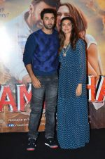 Deepika Padukone, Ranbir Kapoor at Tamasha trailor launch in Mumbai on 22nd Sept 2015 (105)_5602a765baae3.JPG