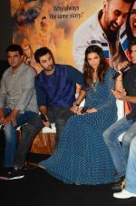 Deepika Padukone, Ranbir Kapoor at Tamasha trailor launch in Mumbai on 22nd Sept 2015 (33)_56025fb522378.JPG