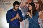 Deepika Padukone, Ranbir Kapoor at Tamasha trailor launch in Mumbai on 22nd Sept 2015 (55)_5602a75715c35.JPG