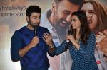 Deepika Padukone, Ranbir Kapoor at Tamasha trailor launch in Mumbai on 22nd Sept 2015 (57)_5602a757d9dec.JPG