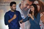 Deepika Padukone, Ranbir Kapoor at Tamasha trailor launch in Mumbai on 22nd Sept 2015 (58)_5602a6e54732b.JPG