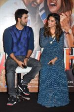 Deepika Padukone, Ranbir Kapoor at Tamasha trailor launch in Mumbai on 22nd Sept 2015 (71)_5602a6e5eac4d.JPG