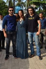 Deepika Padukone, Ranbir Kapoor, Imtiaz Ali at Tamasha trailor launch in Mumbai on 22nd Sept 2015 (38)_5602a7739f6d0.JPG