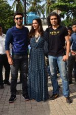 Deepika Padukone, Ranbir Kapoor, Imtiaz Ali at Tamasha trailor launch in Mumbai on 22nd Sept 2015 (40)_5602a7bcde757.JPG