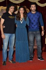 Deepika Padukone, Ranbir Kapoor, Imtiaz Ali at Tamasha trailor launch in Mumbai on 22nd Sept 2015 (44)_5602a774b117c.JPG