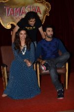Deepika Padukone, Ranbir Kapoor, Imtiaz Ali at Tamasha trailor launch in Mumbai on 22nd Sept 2015 (50)_5602a77592017.JPG