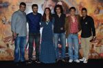 Deepika Padukone, Ranbir Kapoor, Siddharth roy kapur, Imtiaz Ali, Sajid Nadiadwala, Bhushan Kumar at Tamasha trailor launch in Mumbai on 22nd Sept 2015 (71)_5602a7d32b496.JPG