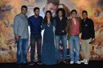 Deepika Padukone, Ranbir Kapoor, Siddharth roy kapur, Imtiaz Ali, Sajid Nadiadwala, Bhushan Kumar at Tamasha trailor launch in Mumbai on 22nd Sept 2015 (73)_5602a7c5874aa.JPG