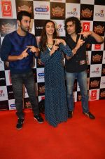 Deepika Padukone, Ranbir Kapoor, Imtiaz Ali at Gulshan Kumar Tribute in Filmcity on 22nd Sept 2015