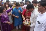 Dimple kapadia and twinkle_s ganpati visarjan on 22nd Sept 2015 (109)_5602610e7f30f.JPG