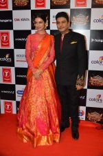 Divya Kumar, Bhushan Kumar at Gulshan Kumar Tribute in Filmcity on 22nd Sept 2015 (108)_5602a96b37e96.JPG