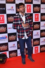 Javed Jaffrey at Gulshan Kumar Tribute in Filmcity on 22nd Sept 2015 (84)_5602aa754da9e.JPG
