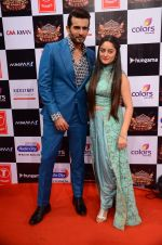 Jay Bhanushali, Mahi Vij at Gulshan Kumar Tribute in Filmcity on 22nd Sept 2015