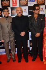 Jeetendra, Shakti Kapoor, Rakesh Roshan at Gulshan Kumar Tribute in Filmcity on 22nd Sept 2015 (153)_5602aaa6a76bf.JPG