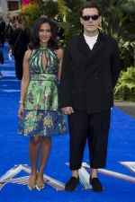 Joe Wright and Anoushka Shankar at PAN Premiere(1)_56024c0e9fb02.jpg