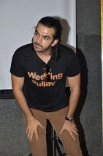 Karan V Grover at wedding Pullav promotions at Law college in Vile parle on 22nd Sept 2015