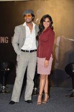 Randeep Hooda, Richa Chadda at cellfie press meet for film Main Aur Charles on 23rd Sept 2015