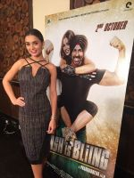 Amy Jackson promote Singh is Bling Amy Jackson at the channel interviews on 23rd Sept 2015