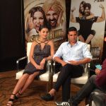 Amy Jackson, Akshay Kumar promote Singh is Bling Amy Jackson at the channel interviews on 23rd Sept 2015