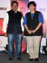 Anil Anagane (CMD, Dan Events) with Falguni Pathak at the Press announcement of _Dubai Dandiya Festival 2015_ with  Falguni Pathak at La Ruche, Bandra_5603a2abc610d.JPG