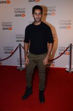 Armaan Jain at Top Shop Red Carpet on 24th Sept 2015