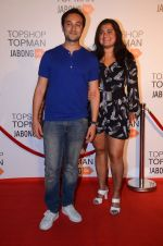 Divya Palat, Aditya hitkari at Top Shop Red Carpet on 24th Sept 2015