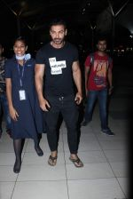 John Abraham snapped at Airport in Mumbai on 24th Sept 2015