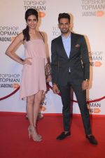 Karishma Tanna, Upen Patel at Top Shop Red Carpet on 24th Sept 2015