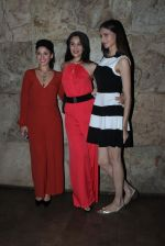 Manjari Fadnis, Simran Kaur Mundi, Sai Lokur at Kis Kisko Pyaar Karoon screening on 24th Sept 2015 (6)_560538a8e38a1.JPG
