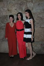Manjari Fadnis, Simran Kaur Mundi, Sai Lokur at Kis Kisko Pyaar Karoon screening on 24th Sept 2015 (8)_56053875698bb.JPG