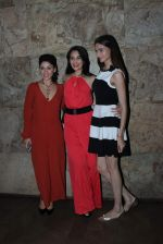 Manjari Fadnis, Simran Kaur Mundi, Sai Lokur at Kis Kisko Pyaar Karoon screening on 24th Sept 2015