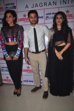 Zoa Morani, Kunal Khemu, Manasi Scott at Bhaag jhonny premiere on 24th Sept 2015 (19)_56053420c4054.JPG